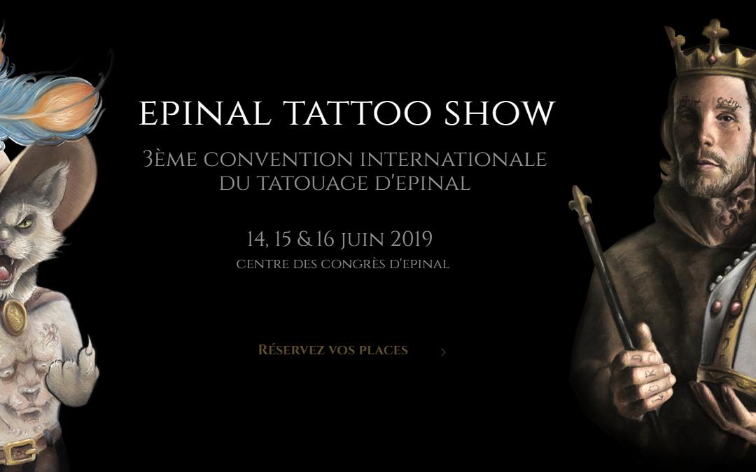 Salon du tatouage à Epinal